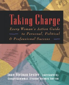 """Taking Charge: Every Woman's Action Guide,"" a volume by Dr. Joan Steinau Lester"