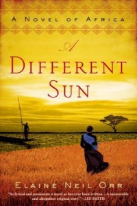A Different Sun Cover by Elaine Neil Orr