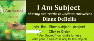 Click for I Am Subject on Kindle