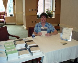 Elaine Ludy Klonicki at a Book Signing at The Heritage in Raleigh NC