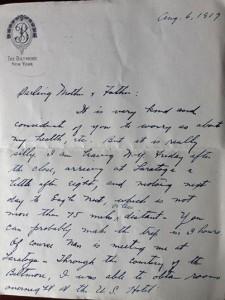 James Seligman Letter