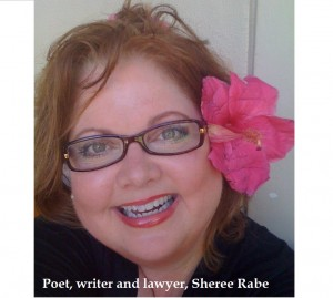 US Poet and Writer Sheree Rabe