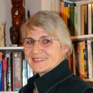 Author Trish Nicholson