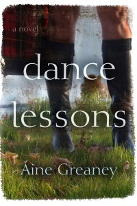 Aine Greaney's Book Cover for Dance Lessons