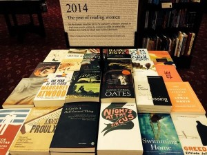 #Readwomen2014 display